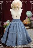 Tiny Garden -Excellent Student- Vintage Classic Lolita Skirt