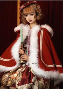 Snow Song Christmas Sweet Lolita Cape