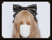 Cat Highness -Rabbit Band- Sweet Lolita Headbow and Hairclip