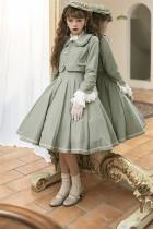 Miss Pearl Classic Lolita JSK and Short Jacket Set