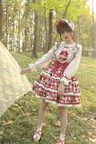 Alice Girl -Strawberry- Sweet Lolita Salopettes