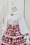 Alice Girl -Strawberry- Sweet Lolita Blouse