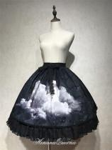 HinanaQueena -Moon Tide- Classic Lolita Skirt and Vest Set