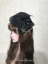 HinanaQueena -Moon Tide- Classic Lolita Hat and Headband