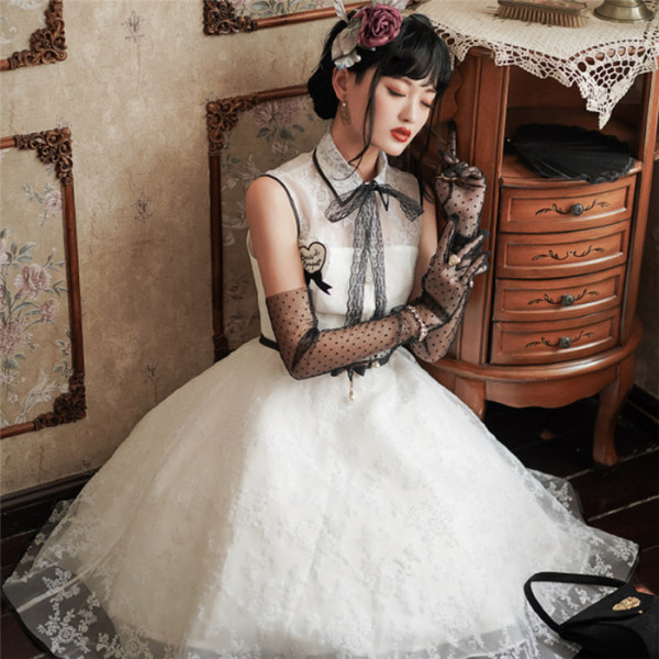 Doirs Night -Black and White Party- Classic Lolita JSK