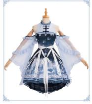 Yinluofu -The Whale- Qi Lolita JSK and Accessories