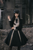 YourHighness -Curacao- Ouji Military Lolita Skirt, Blouse and Jacket Set