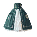 Surface Spell -Unfinished Book- Classic Vintage Corset Lolita Skirt
