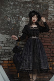 Withpuji -Shining Stone- Classic Lolita OP Dress for Autumn and Winter