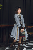 Withpuji -Knights Templar- Ouji Lolita OP Dress