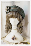 Surface Spell -Unfinished Book- Classic Vintage Lolita Beret