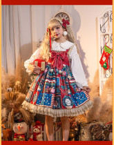 Jingle Bells Christmas Sweet Lolita JSK