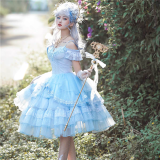 Beautiful Song Classic Princess Tea Party Lolita JSK