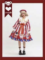 Catsbroom -Brovnian in Different Style- Sweet Sailor H Shape Lolita OP Dress