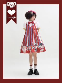 Catsbroom -Brovnian in Different Style- Sweet Sailor A Shape Lolita JSK