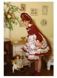 Baduoni -Sweet Tea- Sweet Lolita Bonnet and Hairclip