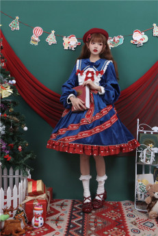 To Alice -Gift Box- Sweet Lolita OP Dress