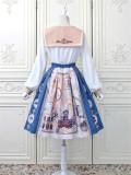 Alice Girl -London Travel- Sweet Lolita Salopettes