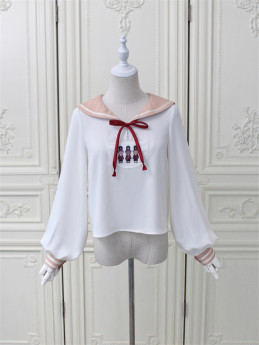 Alice Girl -London Travel- Sweet Lolita Blouse