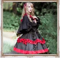 Rozen Maiden Sweet Lolita Cape and Waistband
