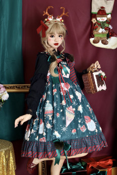 Infanta -Christmas Donut- Sweet Lolita JSK