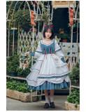 Withpuji -The Rime- Classic Lolita OP Dress