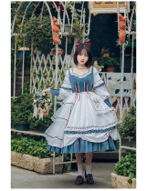 Withpuji -The Rime- Classic Lolita OP Dress