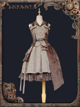 Infanta -Spirit of the Adventurer- Punk Lolita Vest and Skirt