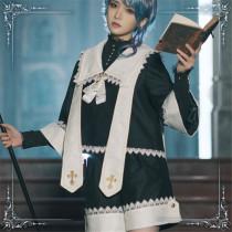 Immortal Thorn -The Secret of Fatima- Ouji Lolita Jacket and Shorts