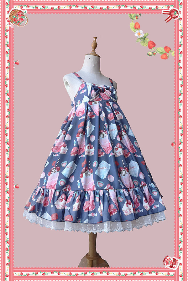 Infanta -The Strawberry- Sweet Lolita JSK