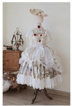 Nightingale and Rose Classic Lolita OP Dress