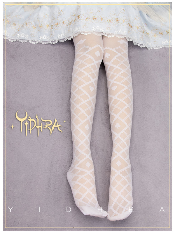 Yidhra -Alice Dream- Lolita Tights for Spring and Summer