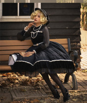 Sweety Honey -Alberta- Vintage Classic Lolita OP Dress