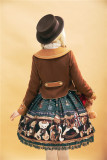 Mivus Korschum Sweet Lolita Coat OP Dress for Winter
