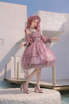 Nineodes -Flower in the Mirror- Classic Princess Lolita JSK