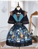 Yinluofu -Deep Cliff- Classic Lolita JSK and Cape