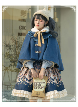 Yinluofu -To Explore the Stars- Classic Lolita Skirt, Topwear and Cape
