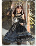 Yinluofu -Starlit Night- Classic Lolita JSK Set
