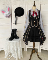 Withpuji -Degraded Magician- Ouji Poker Lolita Set