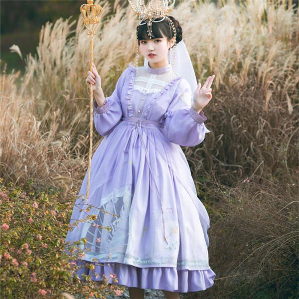 Withpuji - Classic Lolita OP Dress