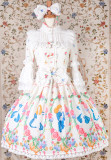 Yilia -Alice- Sweet Lolita OP, JSK and Skirt