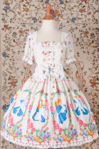 Yilia -Alice- Sweet Lolita OP, JSK and Skirt