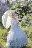 FaeriesDaffodil -Final Design- High Waist Princess Corset Lolita Skirt
