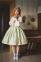 FaeriesDaffodil -Autumn Gift- Classic Embroidery Lolita JSK