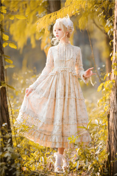 Another Walker -Countryside Girl- Classic Lolita OP Dress