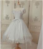 FaeriesDaffodil -Final Design- Princess Lolita OP Dress Short Version, Overskirt and Necklace Set