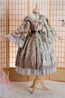 Fantastic Wind -Chizuru- Classic Lolita JSK, OP Dress and Blouse