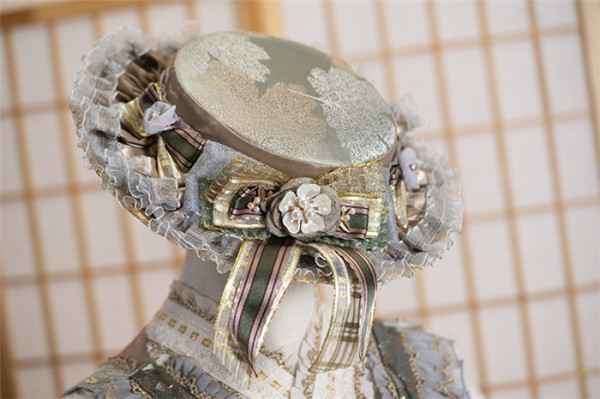 Fantastic Wind -Chizuru- Classic Lolita Shawl and Hat
