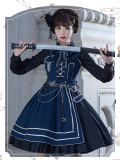 The Battle of No Wounds Ouji Lolita JSK, Cape and Accessories