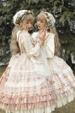 Alice Girl -The Cat Tracery Wall- Classic Countryside Lolita JSK